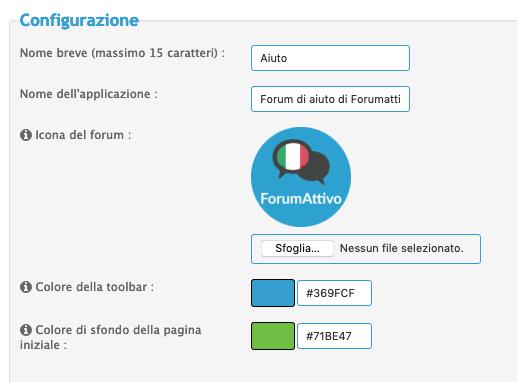 Progressive Web App (PWA) disponibile sui forum Forumattivo Scherm28