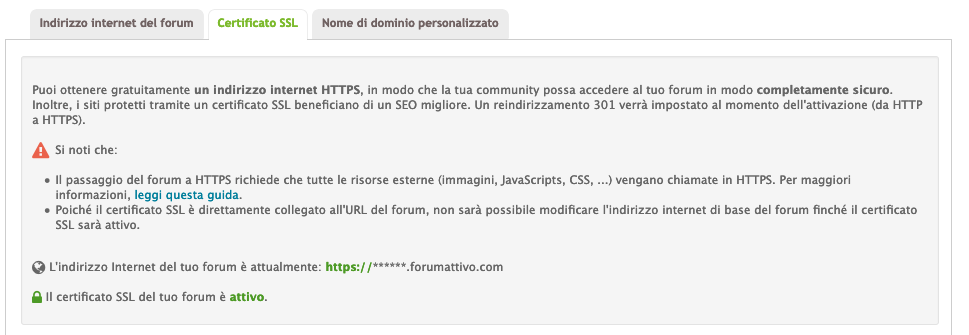 Certificato SSL ora GRATUITO per tutti i forum Forumattivo Scherm31