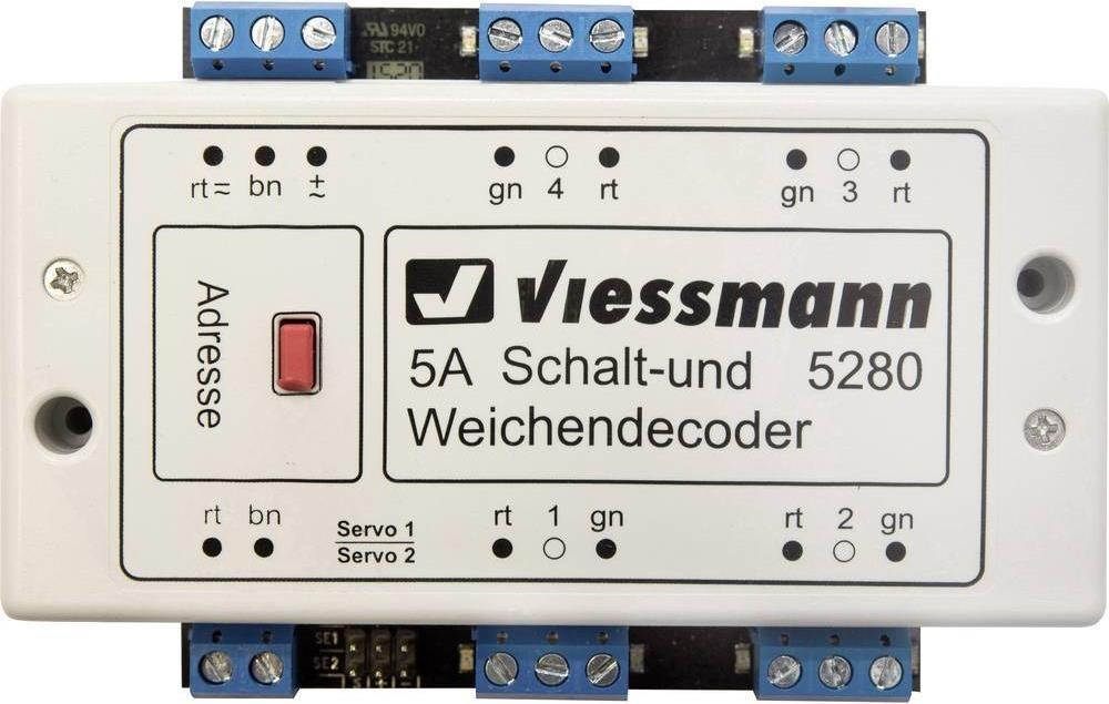 Décodeur de commutation et d'aiguillage Viessmann 5280/5285 Image10