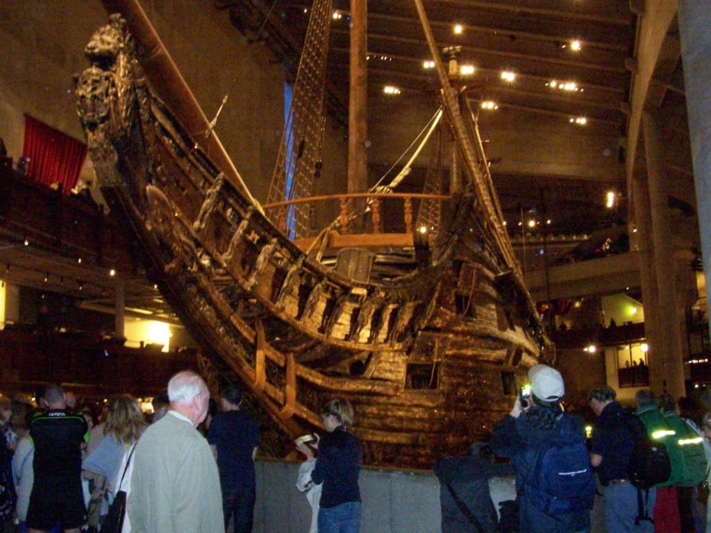 ¿Pudo el galeón Vasa hundirse por una moneda? 100_4610