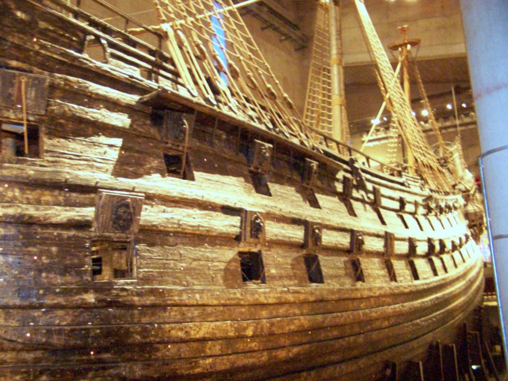 ¿Pudo el galeón Vasa hundirse por una moneda? 100_4611