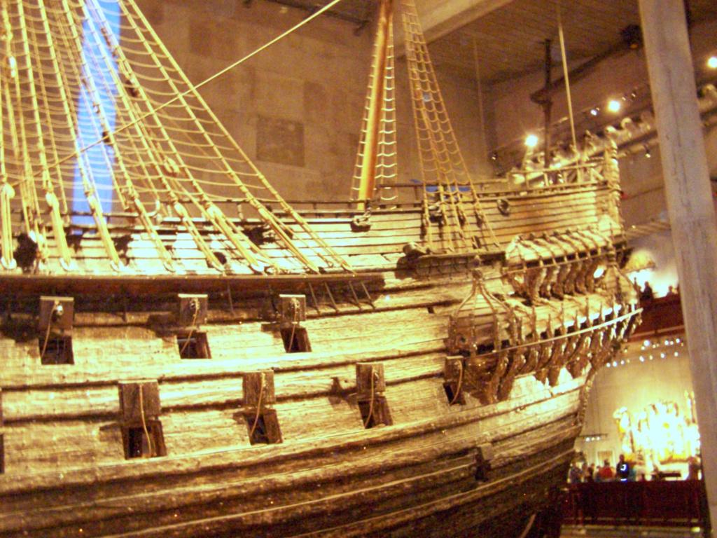 ¿Pudo el galeón Vasa hundirse por una moneda? 100_4612