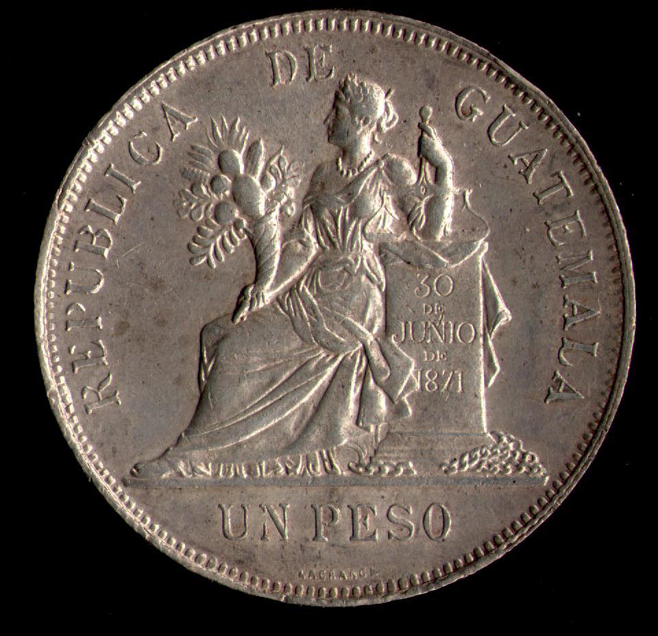 1 Peso de 1.894 de Guatemala. Compar13