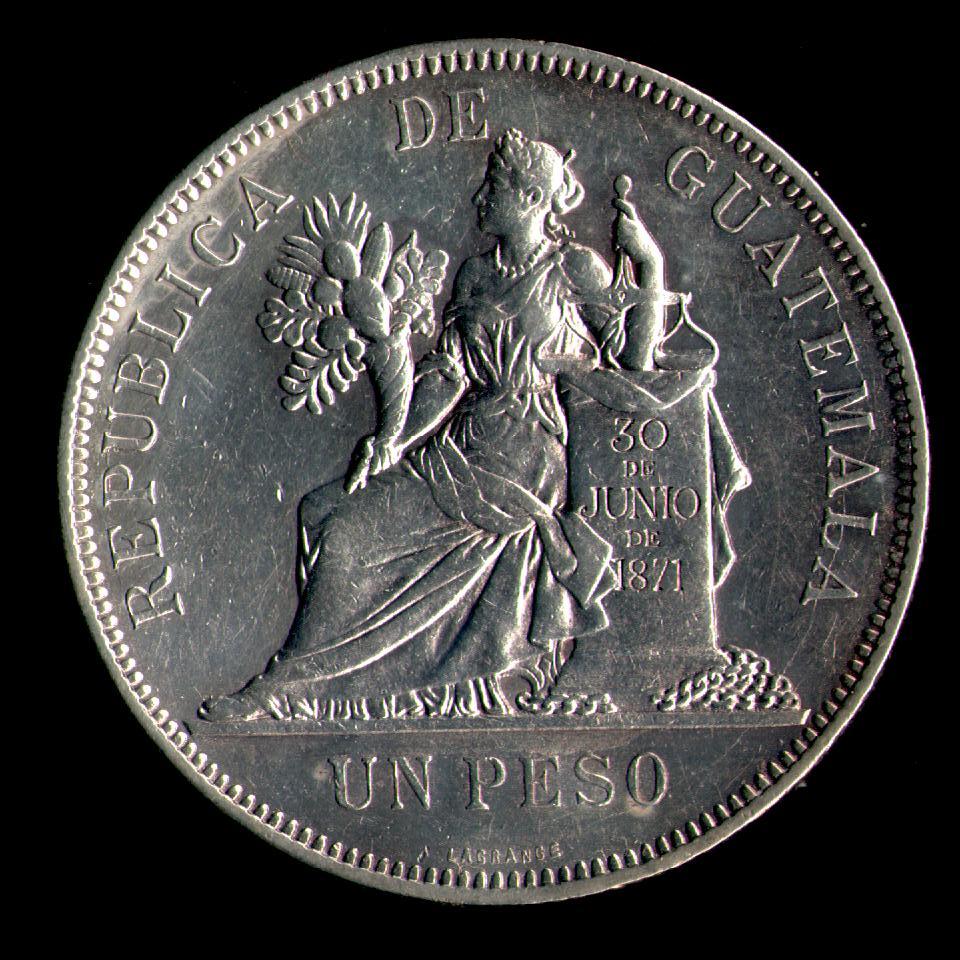 1 Peso de 1.894 de Guatemala. Compar14
