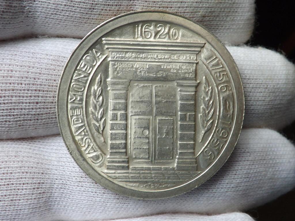 1 Peso de (1.956), Colombia. Bicentenario de la ceca de Popayán Dscf3441