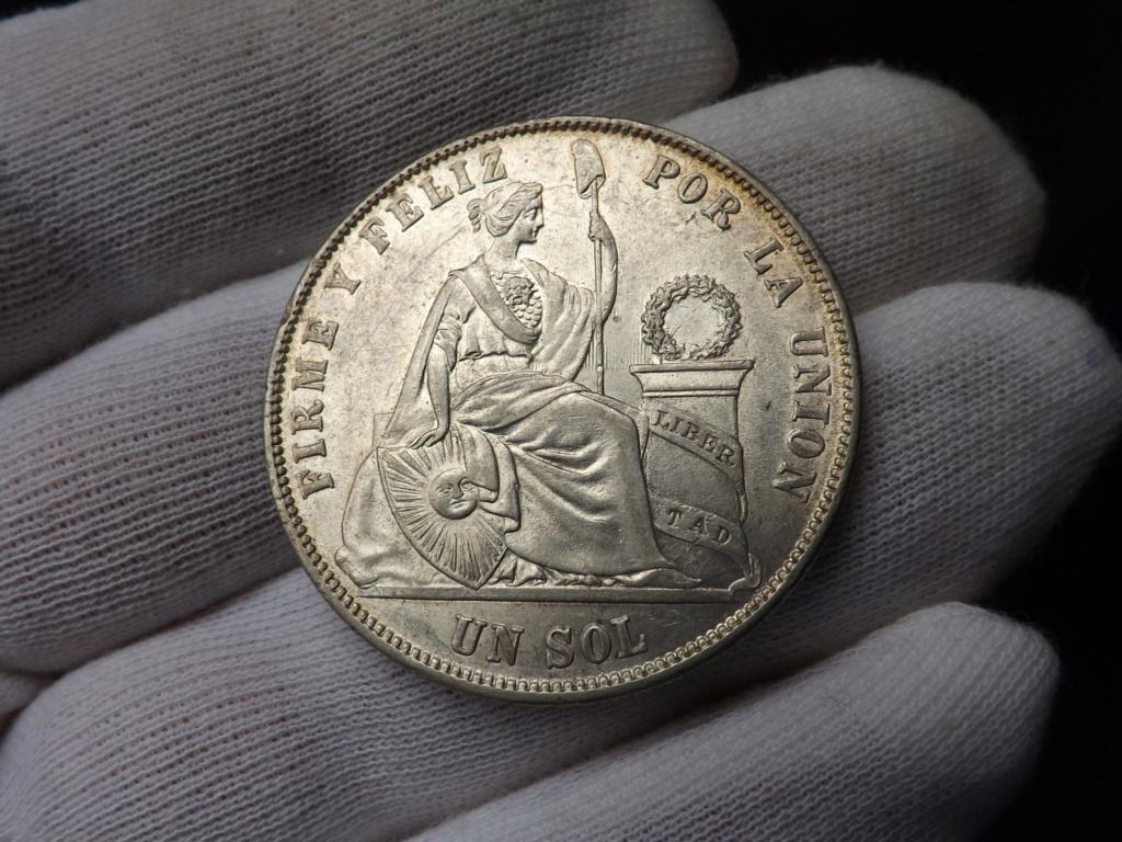 1 Sol de 1.872 del Perú. Dscf3444