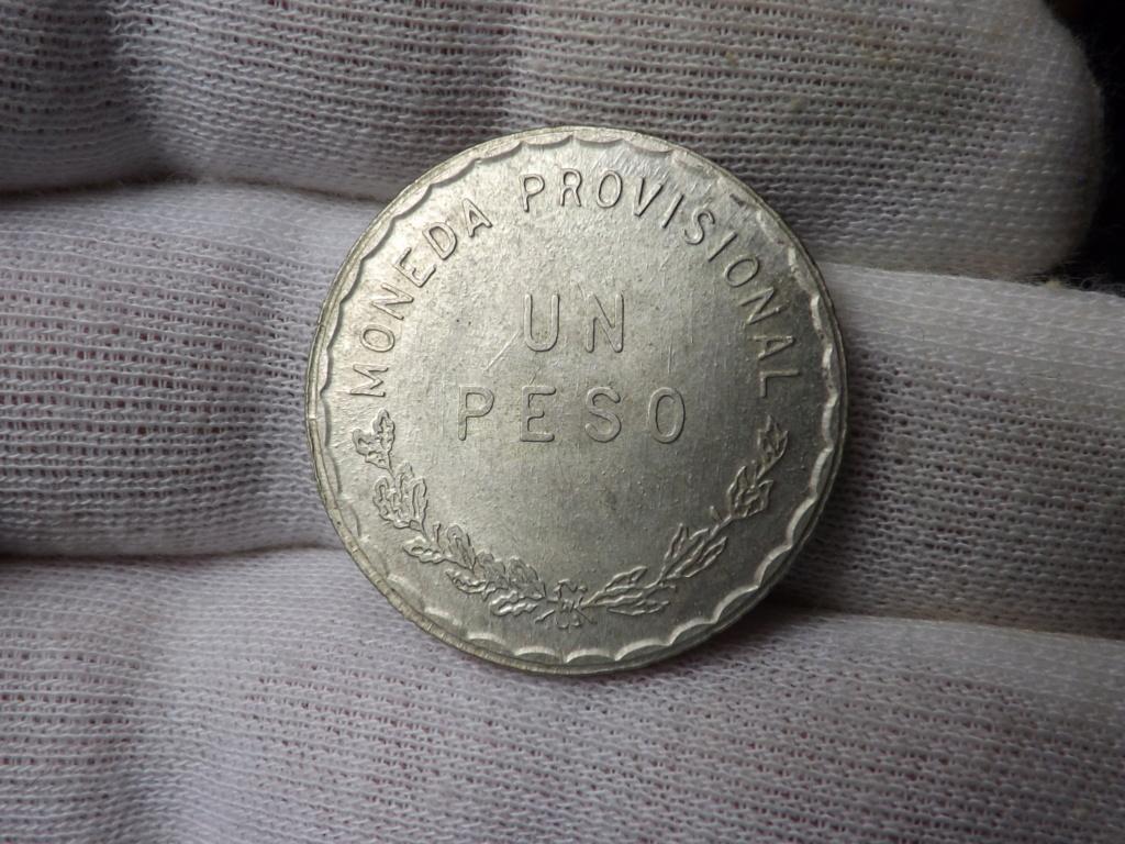 1 Peso del Estado Libre y Soberano de Oaxaca 1.915, Méjico. Dscf3453