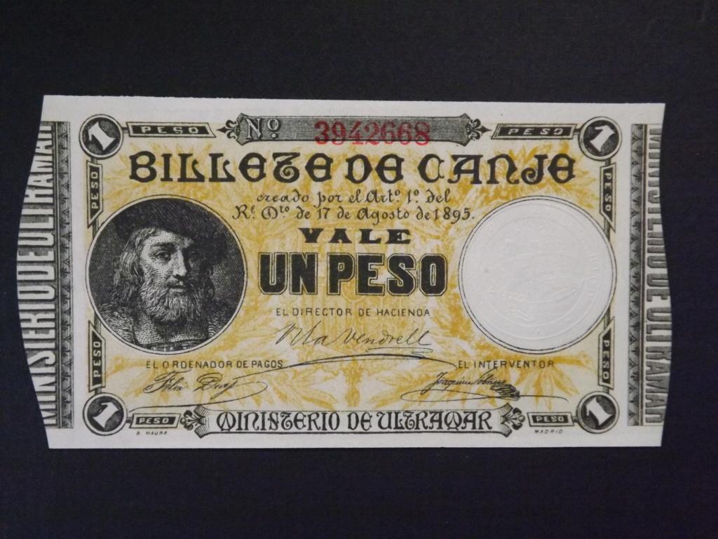 1 Peso de 1.895, billete de canje de Puerto Rico Dscf3525