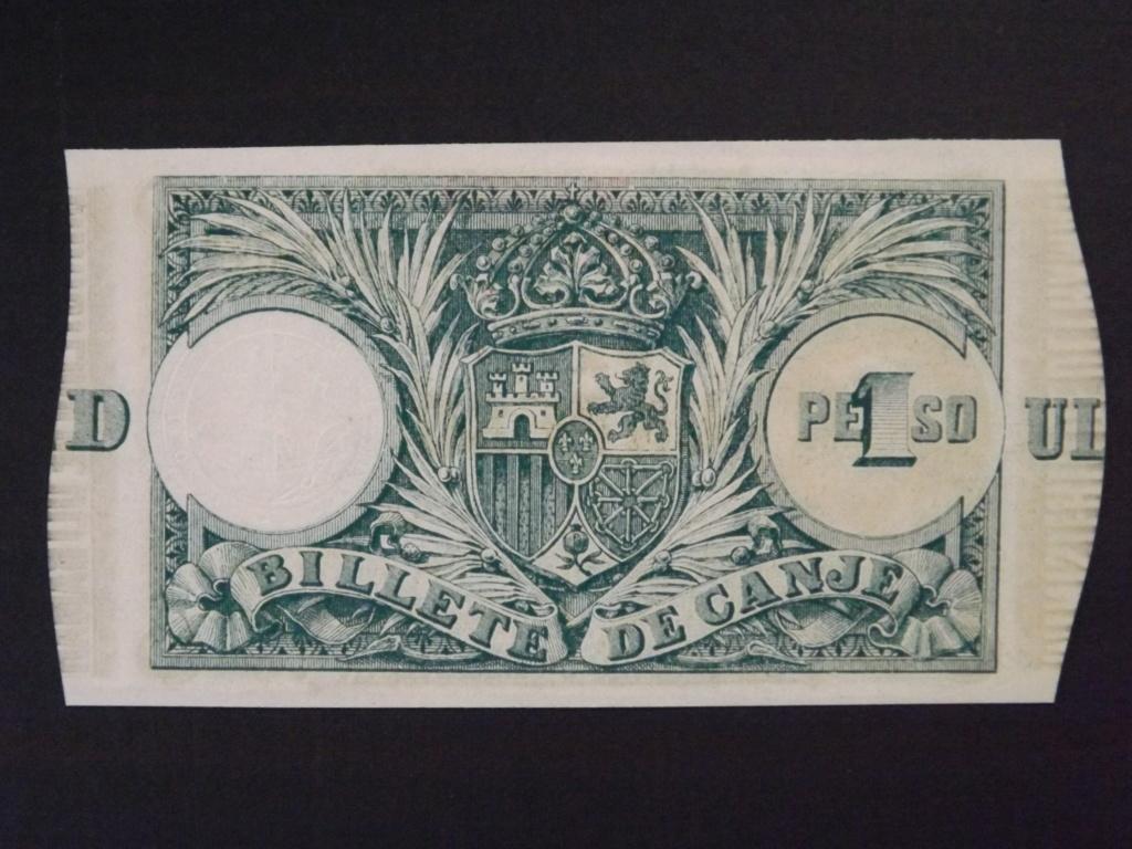 1 Peso de 1.895, billete de canje de Puerto Rico Dscf3527