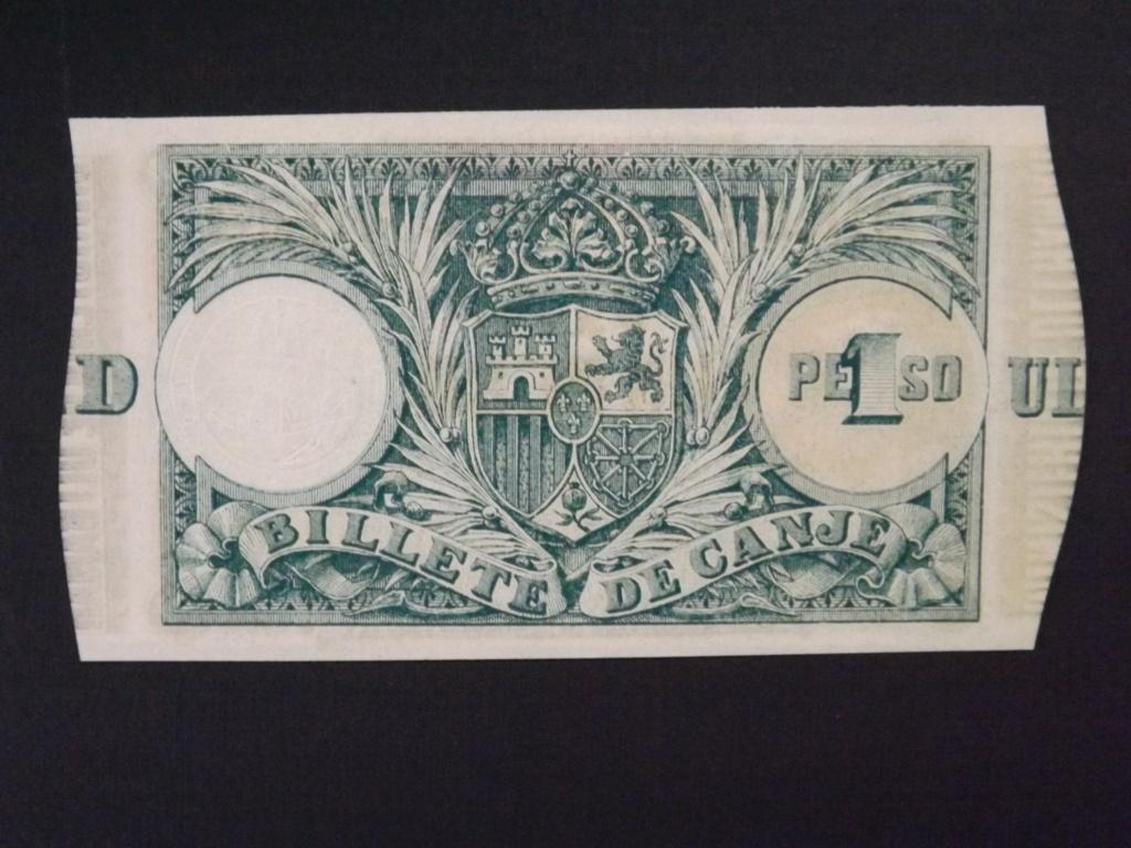 1 Peso de 1.895, billete de canje de Puerto Rico Dscf3528
