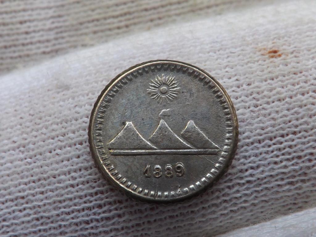 ¼ de Real de 1.889 de Guatemala. Dscf3710