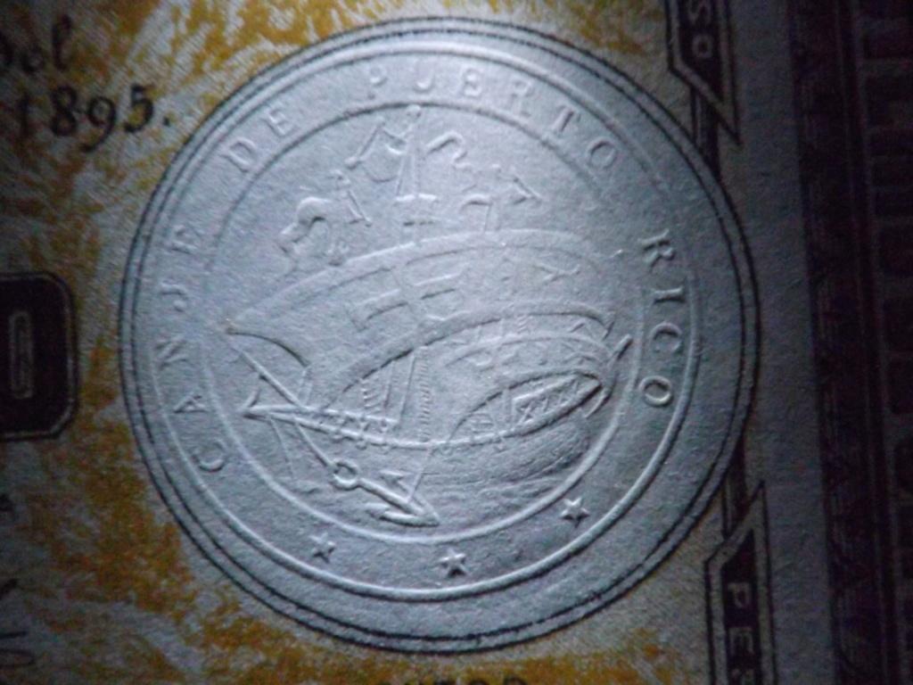1 Peso de 1.895, billete de canje de Puerto Rico Dscf3810