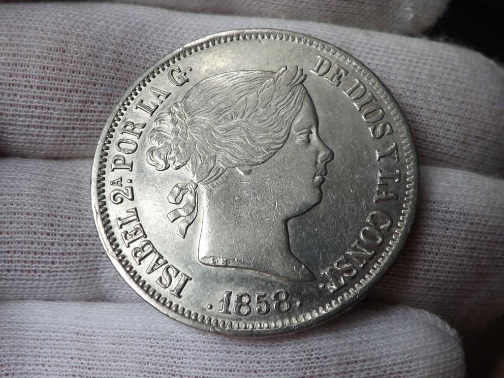20 Reales 1.858. Isabel II. Sevilla Dscf3911