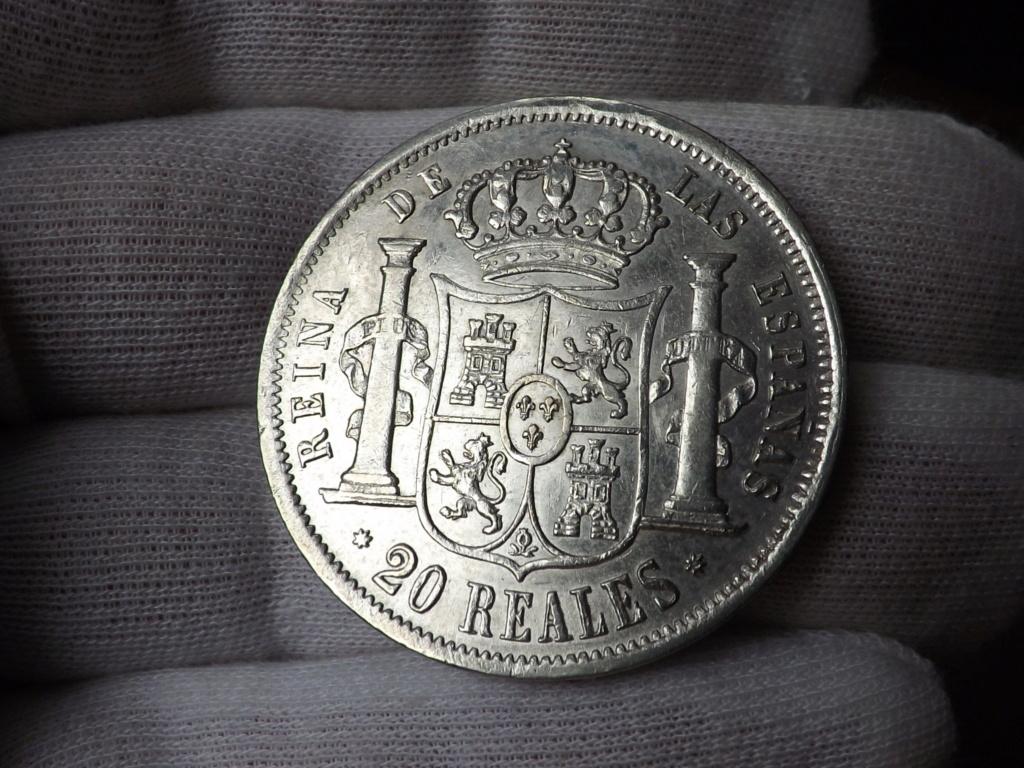 20 Reales 1.858. Isabel II. Sevilla Dscf3913