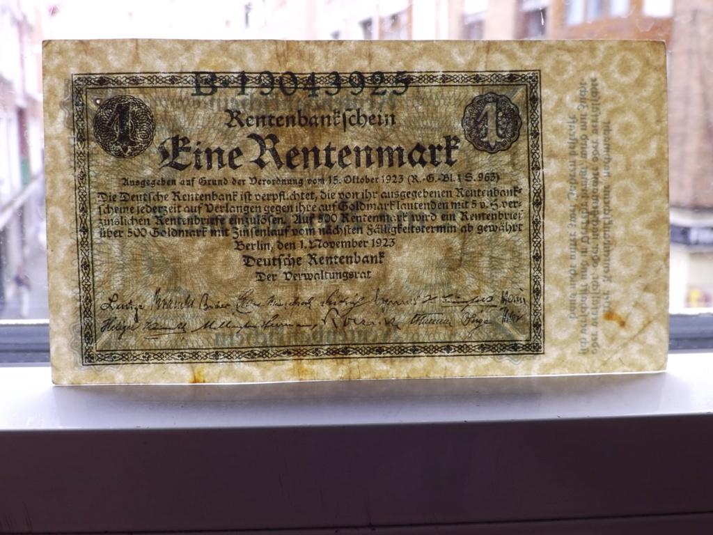 1 Rentenmark 1.923. República de Weimar, Alemania Dscf4213