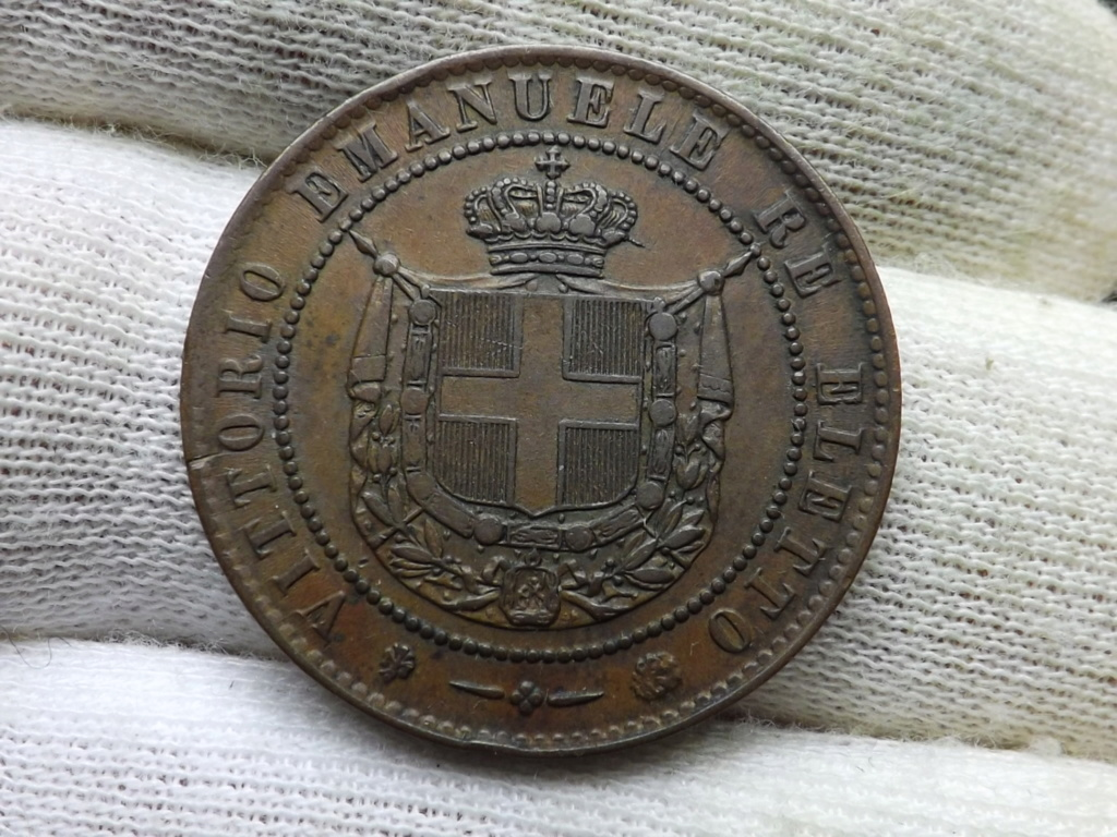 5 Centesimi de 1.859. Gobierno Provisional de la Toscana. Va por tí bujía. Dscf4521