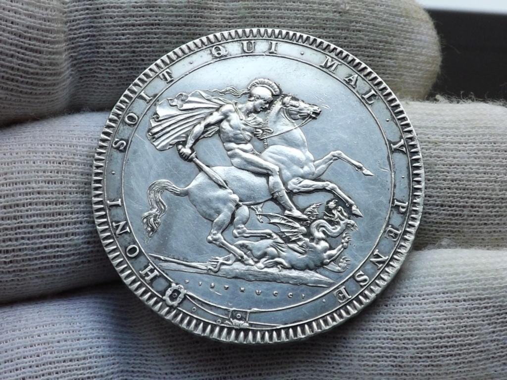 Corona de 1.819. Gran Bretaña. Dscf4611
