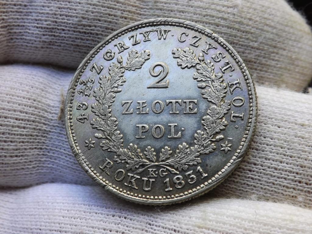 2 złote de 1.831 de la insurrección polaca. Dedicada a armintza79 y + Dscf4711