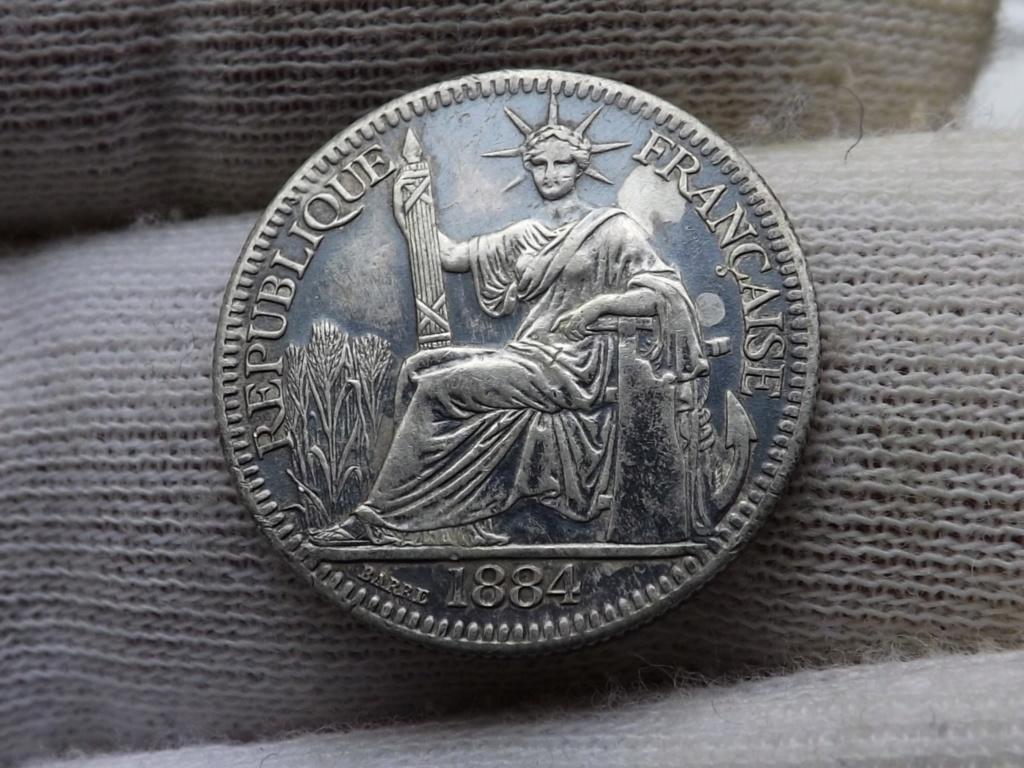 10 Centimes de Piastra de 1884, Cochinchina francesa. Dedicada a mi amigo Sol Mar. Dscf5311