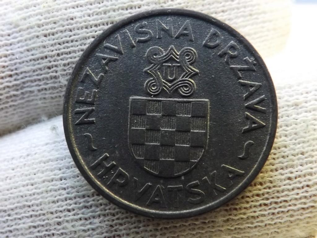 2 Kune de 1.941, Estado Independiente de Croacia. Dscf5410