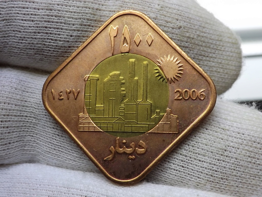 ¡¡ No soy redonda !! (2.500 Dinares del Kurdistán 2.006 moneda-fantasía)  Dscf5518