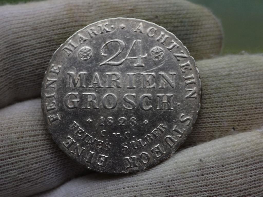 24 Mariengroschen de 1828. Ducado de Braunsweigh-Wolfebütel Dscf5930