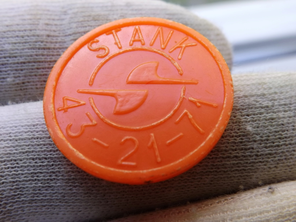 ¡¡Naranjas!! ficha del metro de Kharkov ( Ucrania).  Dedicado para 10 Pfennig. Dscf5933