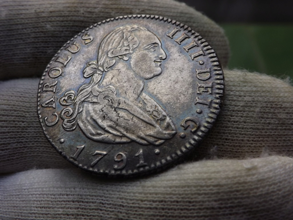 4 Reales de 1.791 Madrid, Carlos IV. Dscf6115