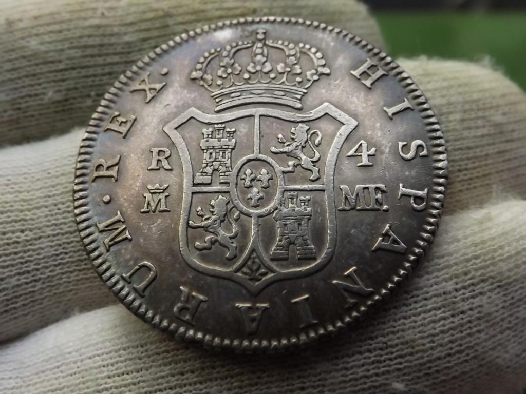4 Reales de 1.791 Madrid, Carlos IV. Dscf6118
