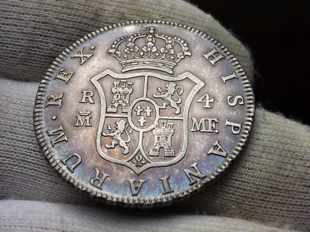 4 Reales de 1.791 Madrid, Carlos IV. Dscf6121