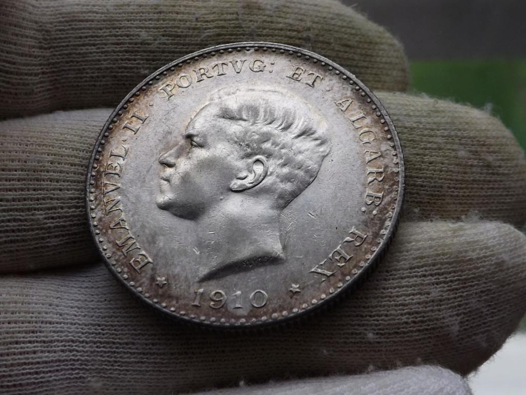 1.000 Reis de 1.910 de Portugal, Centenario de la Guerra Peninsular. Dscf6214