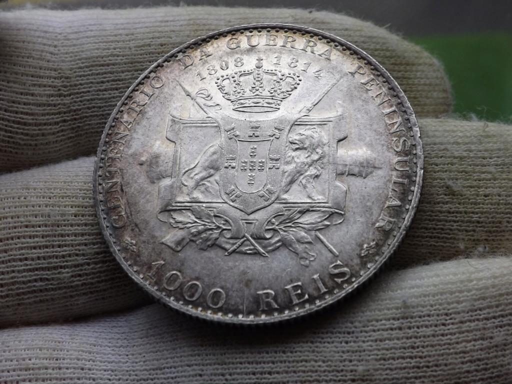 1.000 Reis de 1.910 de Portugal, Centenario de la Guerra Peninsular. Dscf6215