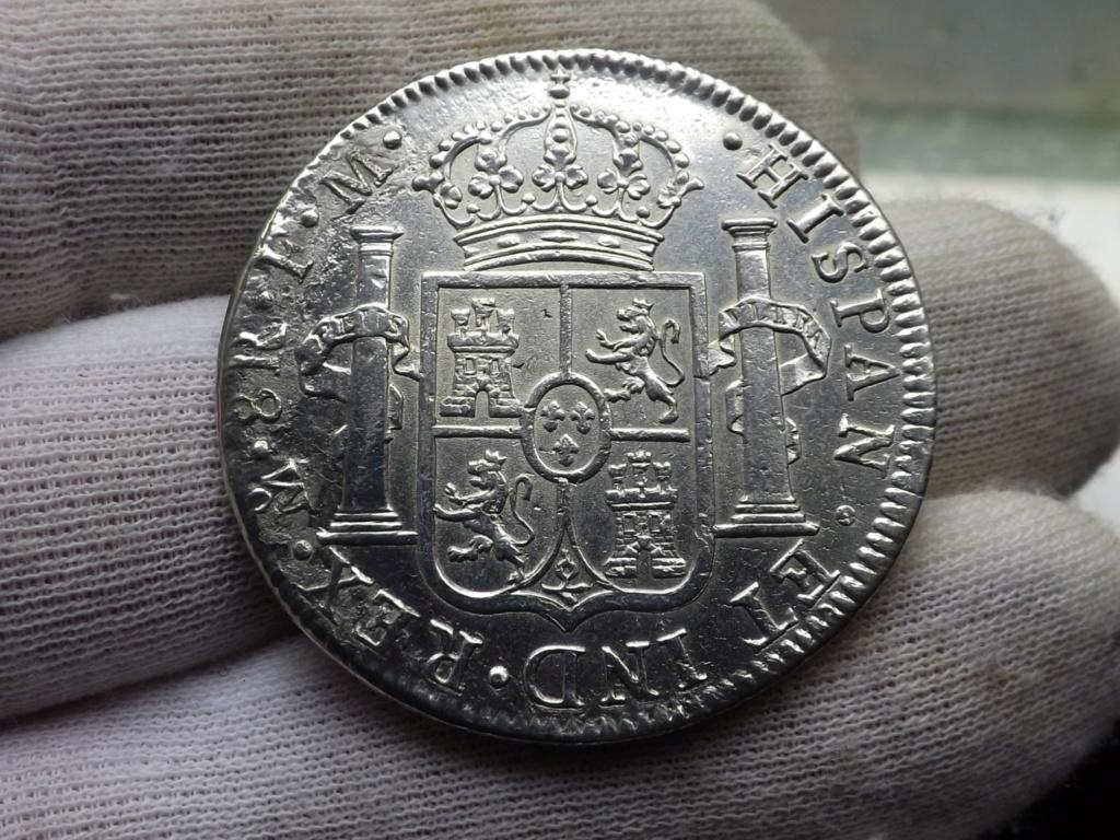 8 Reales de 1791 Méjico de Carlos lV. Mis 3 primeros Reales de a 8.  ( I ) Dscf6541