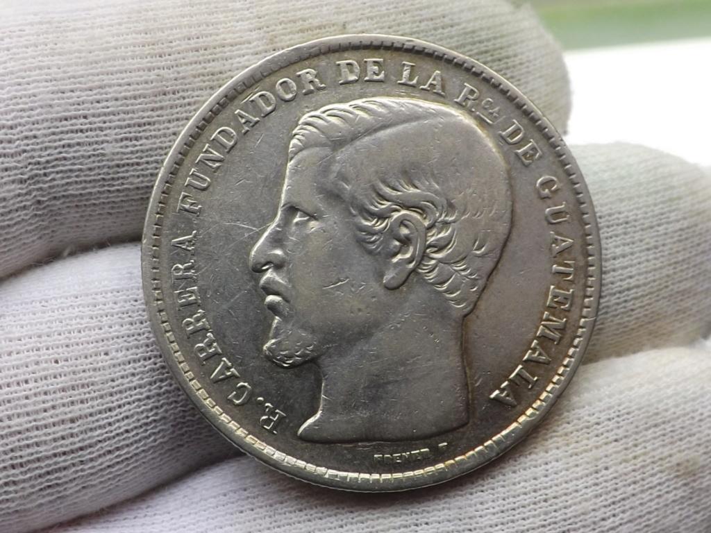 1 Peso de 1.867 (tipo Carrera), Guatemala. Dscf6643
