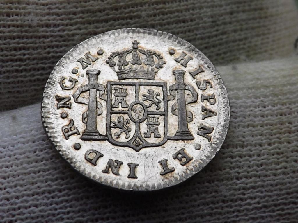 ½ Real de 1.820 de Guatemala, Fernando VII . Dscf7013