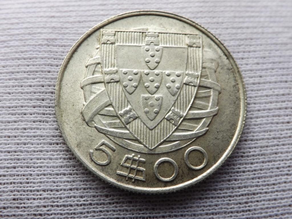 5 Escudos de 1.934, Portugal. Dscf7120