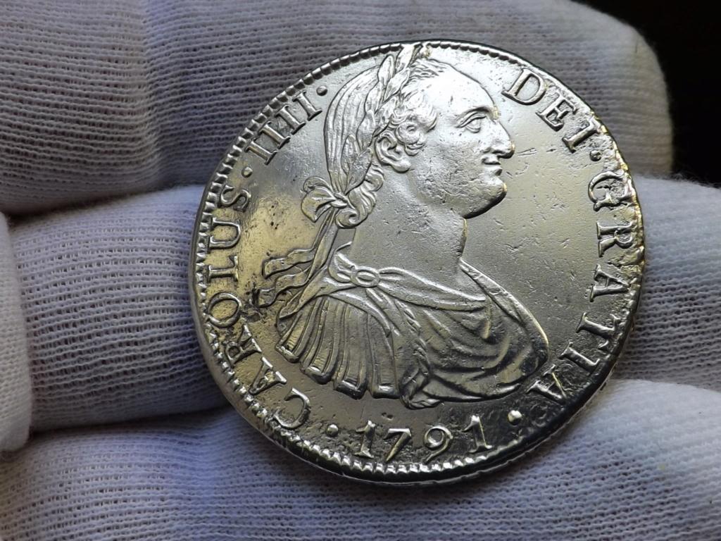 8 Reales de 1791 Méjico de Carlos lV. Mis 3 primeros Reales de a 8.  ( I ) Dscf7233