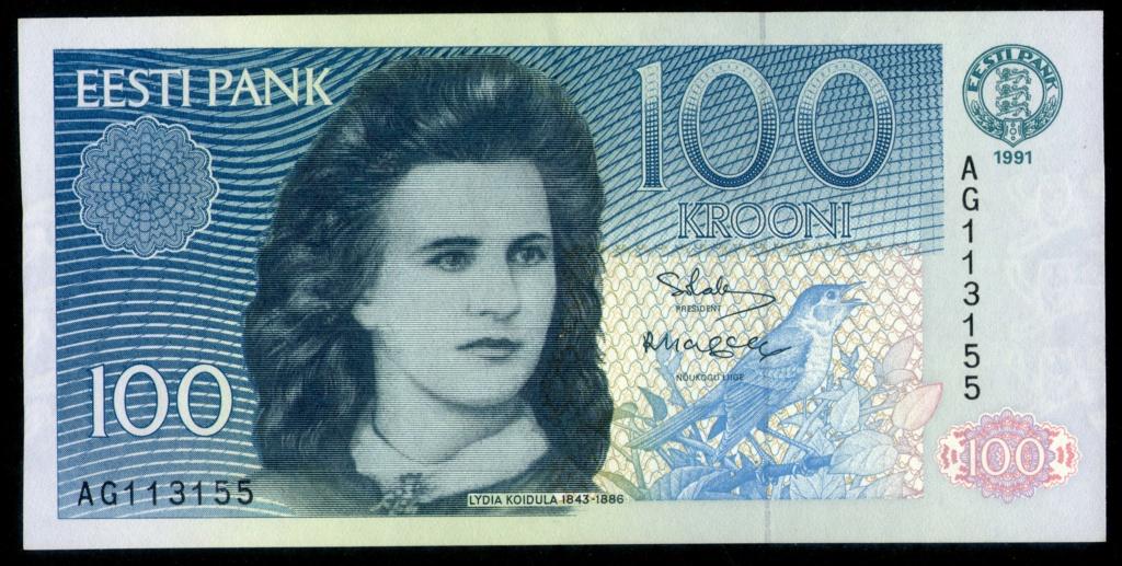Billetes sobre personajes Literarios o de comic. Estoni11