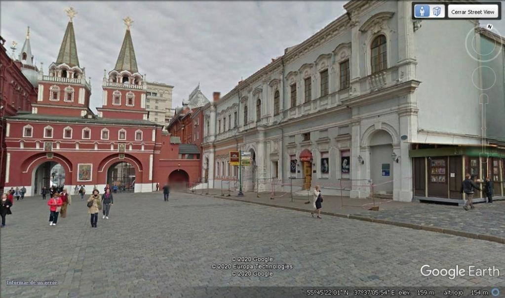 1 Rublo de 1.997  Puerta y Capilla Ibérica ( Iversky vorota ), Rusia. Krasny10