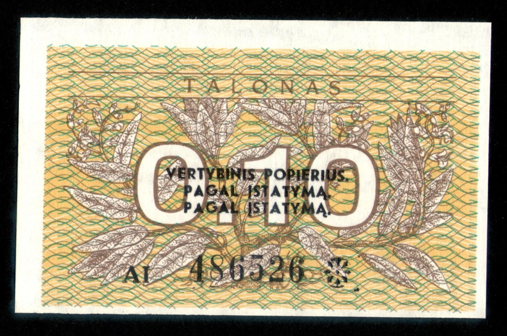 Billetes con errores Lituan12