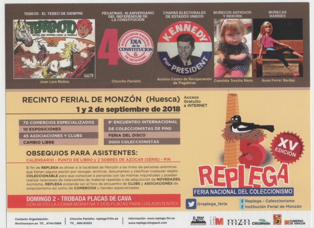 Feria del Coleccionismo en Monzón ( Huesca ) Repleg10