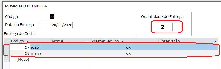 [Resolvido]Contar Numero de Registros 0146