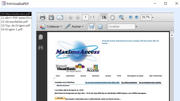[Resolvido]Erro ao abrir PDF 0150