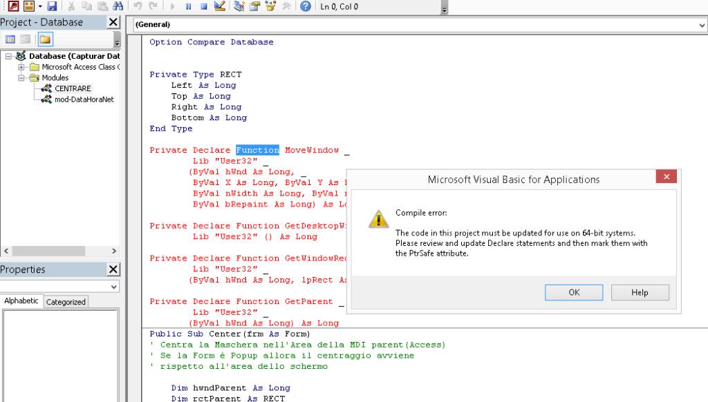 [Resolvido]Ajustar código para funcionar em 32 Bits e 64 Bits 0172