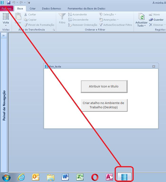 [Resolvido]Duvida exemplo Icon e Título da aplicação e Criar Atalho no Ambiente de Trabalho 054