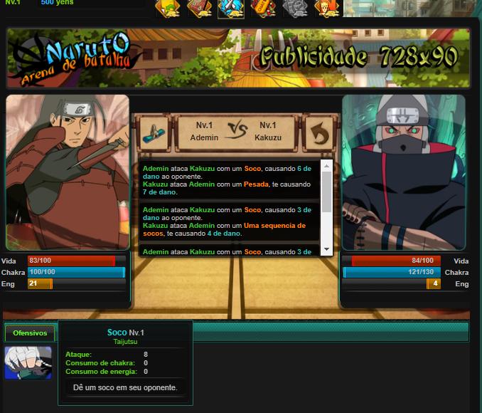Naruto Arena de Batalha Source Screen10