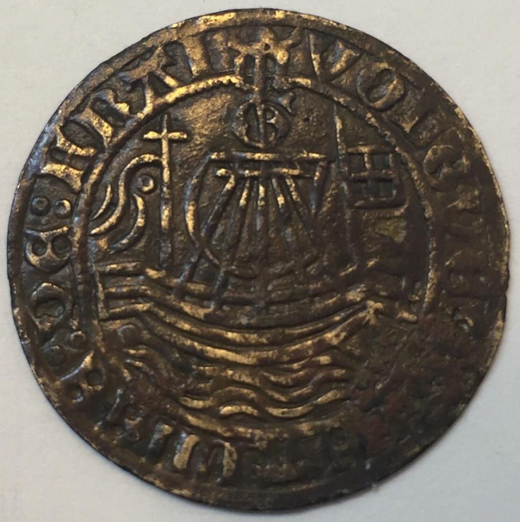 Rechenpfennig (jetón) alemán de Núremberg. Siglo XVI. Img_e512