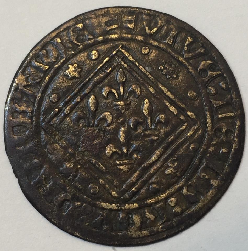 Rechenpfennig (jetón) alemán de Núremberg. Siglo XVI. Img_e513