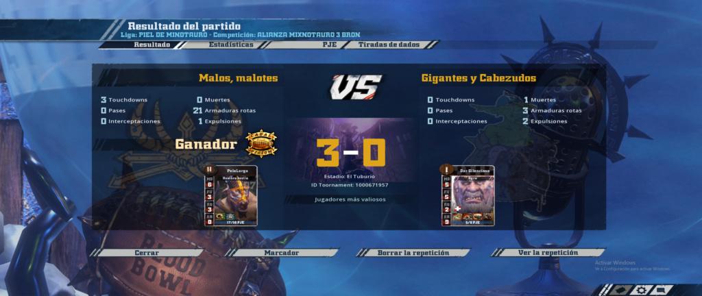 Liga Alianza Mixnotauro 3 - División Cuerno de Bronce / Jornada 1 - hasta el domingo 29 de septiembre - Página 2 Partid21