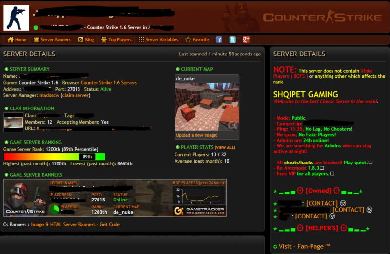 [ Counter Strike] قم بالإعلان عن سيرفرك مجاناً في المنتدى! Aoaoo10